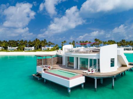 Nový luxusný rezort na Maldivách - LUX* North Male Atoll *****+