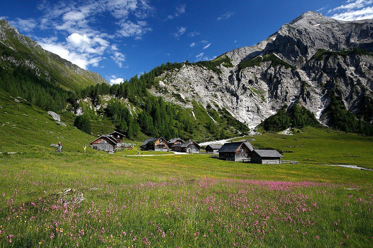 Dovolenka v rakúskych Alpách..